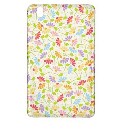 Flower Rainbow Sexy Leaf Plaid Vertical Horizon Samsung Galaxy Tab Pro 8 4 Hardshell Case by AnjaniArt