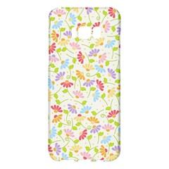 Flower Rainbow Sexy Leaf Plaid Vertical Horizon Samsung Galaxy S8 Plus Hardshell Case  by AnjaniArt