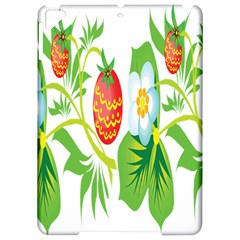 Fruit Flower Leaf Red White Green Starflower Apple Ipad Pro 9 7   Hardshell Case by AnjaniArt