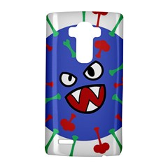 Monster Virus Blue Cart Big Eye Red Green Lg G4 Hardshell Case by AnjaniArt
