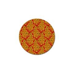 Flower Rose Red Yellow Sexy Golf Ball Marker (10 Pack) by AnjaniArt