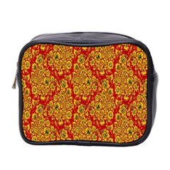 Flower Rose Red Yellow Sexy Mini Toiletries Bag 2 Side by AnjaniArt