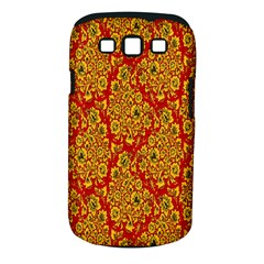 Flower Rose Red Yellow Sexy Samsung Galaxy S Iii Classic Hardshell Case (pc+silicone) by AnjaniArt