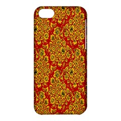 Flower Rose Red Yellow Sexy Apple Iphone 5c Hardshell Case by AnjaniArt