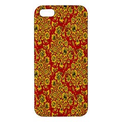 Flower Rose Red Yellow Sexy Iphone 5s/ Se Premium Hardshell Case by AnjaniArt