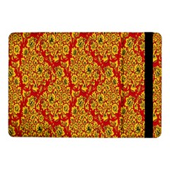 Flower Rose Red Yellow Sexy Samsung Galaxy Tab Pro 10 1  Flip Case by AnjaniArt