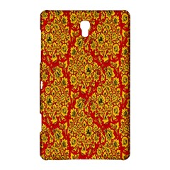 Flower Rose Red Yellow Sexy Samsung Galaxy Tab S (8 4 ) Hardshell Case  by AnjaniArt