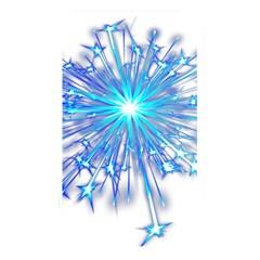 Fireworks Sky Blue Silver Light Star Sexy Memory Card Reader by AnjaniArt