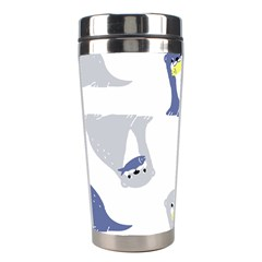 Seals Sea Lions Animals Fish Stainless Steel Travel Tumblers by AnjaniArt