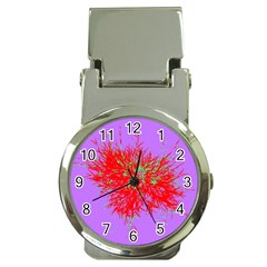 Spot Paint Red Green Purple Sexy Money Clip Watches by AnjaniArt