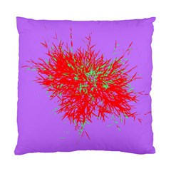 Spot Paint Red Green Purple Sexy Standard Cushion Case (one Side) by AnjaniArt