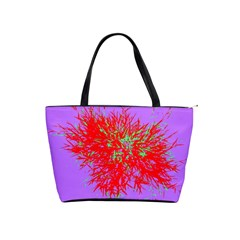 Spot Paint Red Green Purple Sexy Shoulder Handbags by AnjaniArt
