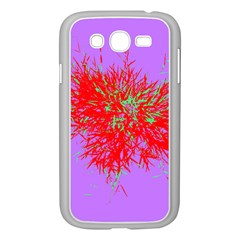 Spot Paint Red Green Purple Sexy Samsung Galaxy Grand Duos I9082 Case (white) by AnjaniArt