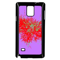 Spot Paint Red Green Purple Sexy Samsung Galaxy Note 4 Case (black) by AnjaniArt