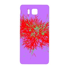 Spot Paint Red Green Purple Sexy Samsung Galaxy Alpha Hardshell Back Case by AnjaniArt
