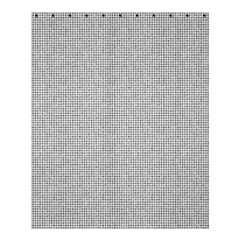 Line Black White Camuflage Polka Dots Shower Curtain 60  X 72  (medium)  by AnjaniArt