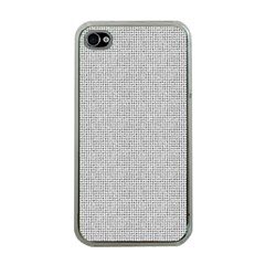 Line Black White Camuflage Polka Dots Apple Iphone 4 Case (clear) by AnjaniArt