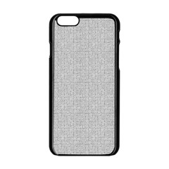 Line Black White Camuflage Polka Dots Apple Iphone 6/6s Black Enamel Case by AnjaniArt