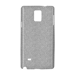 Line Black White Camuflage Polka Dots Samsung Galaxy Note 4 Hardshell Case by AnjaniArt
