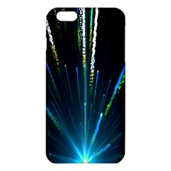 Seamless Colorful Blue Light Fireworks Sky Black Ultra Iphone 6 Plus/6s Plus Tpu Case by AnjaniArt