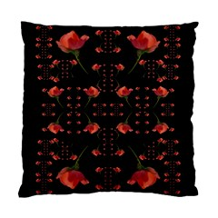 Roses From The Fantasy Garden Standard Cushion Case (two Sides) by pepitasart