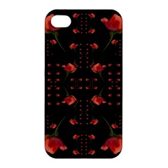 Roses From The Fantasy Garden Apple Iphone 4/4s Hardshell Case by pepitasart