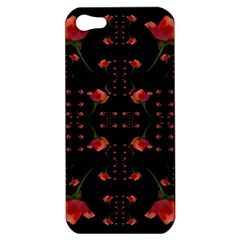 Roses From The Fantasy Garden Apple Iphone 5 Hardshell Case by pepitasart