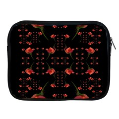 Roses From The Fantasy Garden Apple Ipad 2/3/4 Zipper Cases by pepitasart