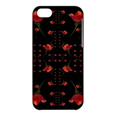 Roses From The Fantasy Garden Apple Iphone 5c Hardshell Case by pepitasart