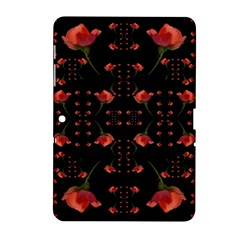 Roses From The Fantasy Garden Samsung Galaxy Tab 2 (10 1 ) P5100 Hardshell Case  by pepitasart