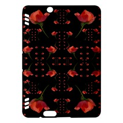 Roses From The Fantasy Garden Kindle Fire Hdx Hardshell Case by pepitasart