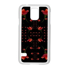Roses From The Fantasy Garden Samsung Galaxy S5 Case (white) by pepitasart