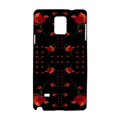 Roses From The Fantasy Garden Samsung Galaxy Note 4 Hardshell Case by pepitasart
