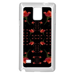 Roses From The Fantasy Garden Samsung Galaxy Note 4 Case (white) by pepitasart