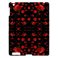 Pumkins And Roses From The Fantasy Garden Apple Ipad 3/4 Hardshell Case by pepitasart