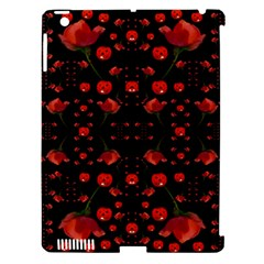 Pumkins And Roses From The Fantasy Garden Apple Ipad 3/4 Hardshell Case (compatible With Smart Cover) by pepitasart
