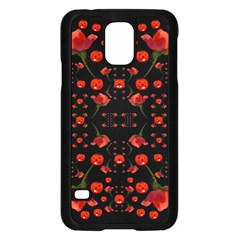 Pumkins And Roses From The Fantasy Garden Samsung Galaxy S5 Case (black)