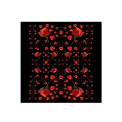 Pumkins And Roses From The Fantasy Garden Satin Bandana Scarf by pepitasart