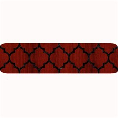 Tile1 Black Marble & Reddish Brown Wood Large Bar Mats by trendistuff