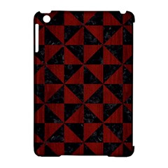 Triangle1 Black Marble & Reddish Brown Wood Apple Ipad Mini Hardshell Case (compatible With Smart Cover) by trendistuff