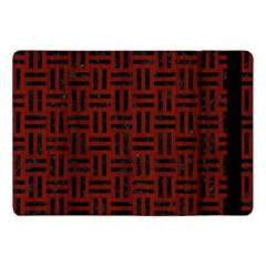 Woven1 Black Marble & Reddish Brown Wood Apple Ipad Pro 10 5   Flip Case by trendistuff