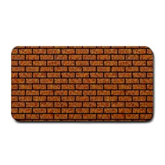 Brick1 Black Marble & Rusted Metal Medium Bar Mats by trendistuff