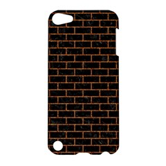 Brick1 Black Marble & Rusted Metal (r) Apple Ipod Touch 5 Hardshell Case by trendistuff