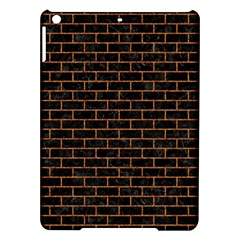 Brick1 Black Marble & Rusted Metal (r) Ipad Air Hardshell Cases by trendistuff