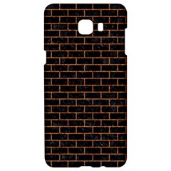 Brick1 Black Marble & Rusted Metal (r) Samsung C9 Pro Hardshell Case  by trendistuff