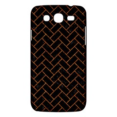 Brick2 Black Marble & Rusted Metal (r) Samsung Galaxy Mega 5 8 I9152 Hardshell Case  by trendistuff