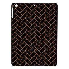 Brick2 Black Marble & Rusted Metal (r) Ipad Air Hardshell Cases by trendistuff