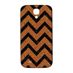 Chevron9 Black Marble & Rusted Metal Samsung Galaxy S4 I9500/i9505  Hardshell Back Case by trendistuff