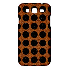 Circles1 Black Marble & Rusted Metal Samsung Galaxy Mega 5 8 I9152 Hardshell Case  by trendistuff
