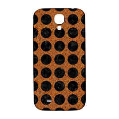 Circles1 Black Marble & Rusted Metal Samsung Galaxy S4 I9500/i9505  Hardshell Back Case by trendistuff